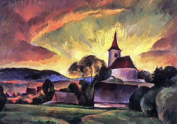 Nagy Imre, a vegetárius magyar festő