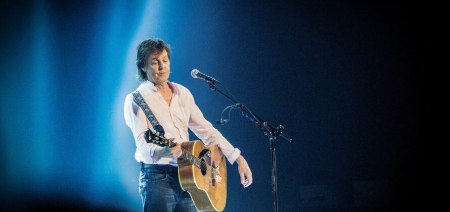 Sir Paul McCartney vegetáráánus