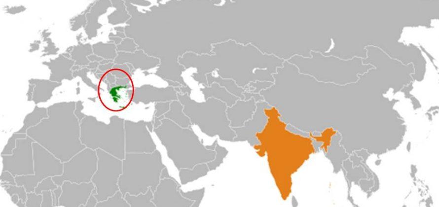 India és a görögök