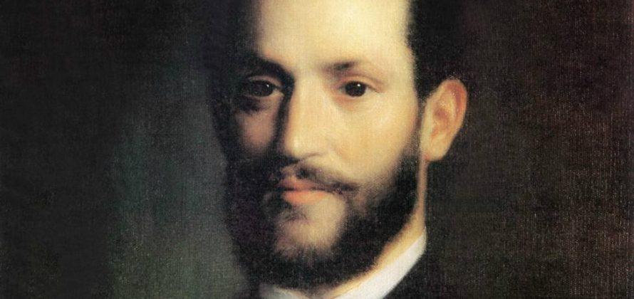 Kovács Mihály festménye, 1861 Vámbéry