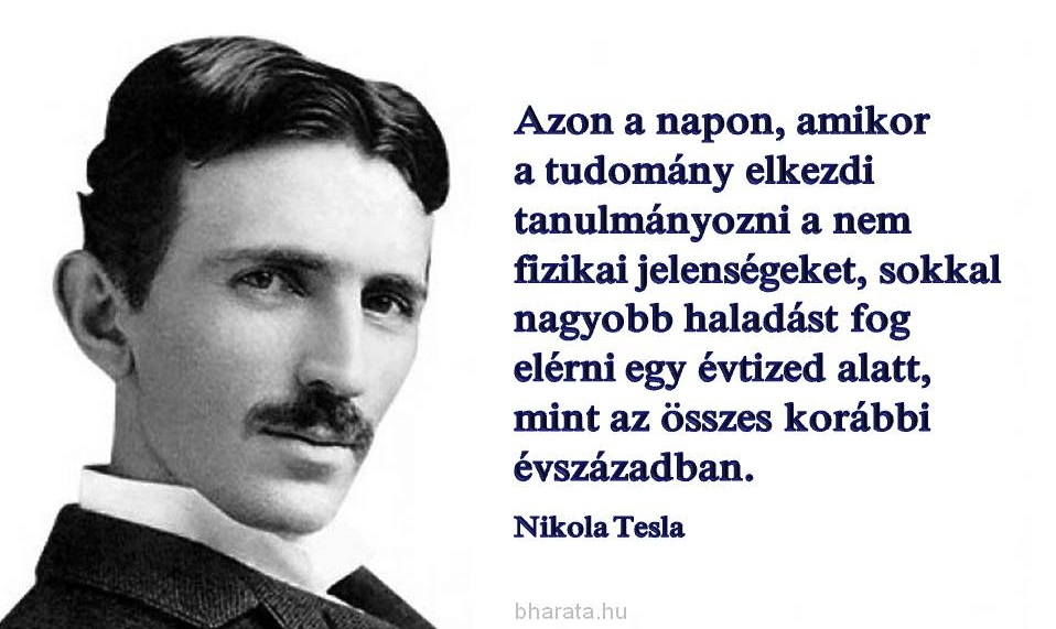 Nikola Tesla idézet
