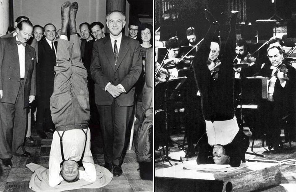 Sir Yehudi Menuhin, a jógi