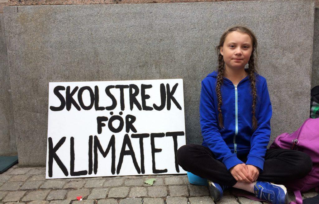 Greta Thinberg iskolai sztrájkja az éghajlatért