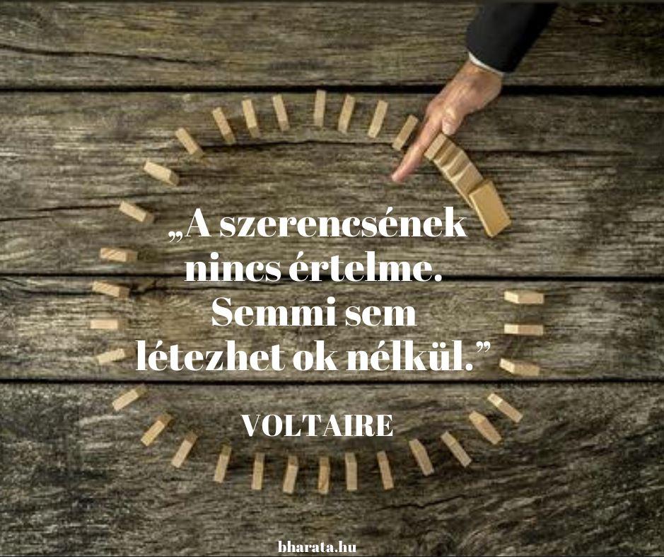 Karma idézetek a Voltaire