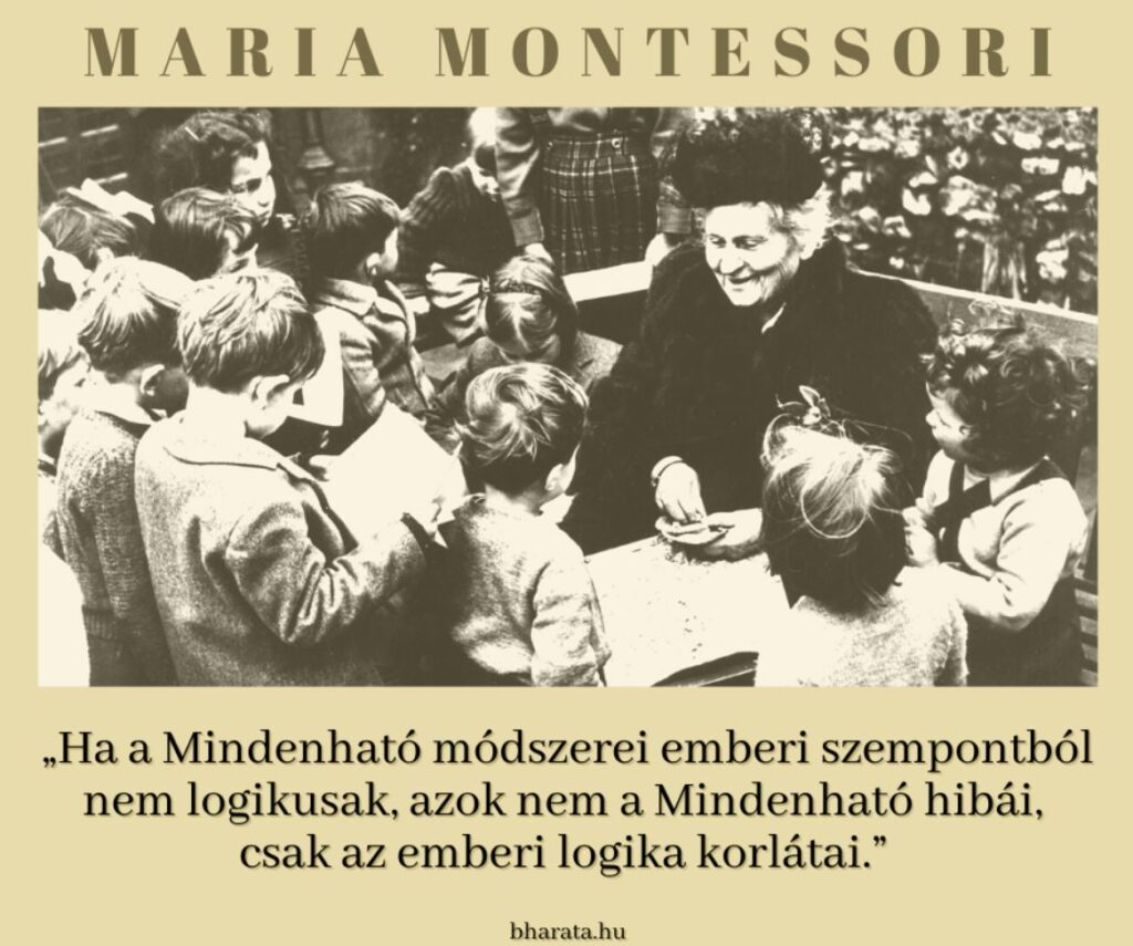 Montessori idézet