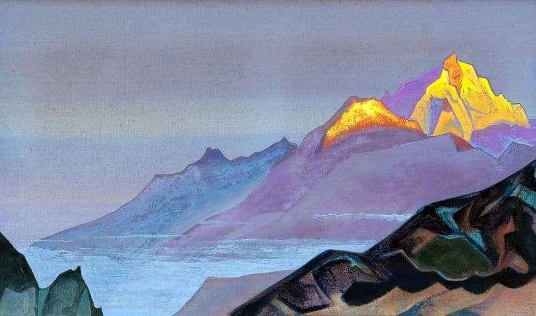 """Roerich festménye """"Út Sambhaláig"""""""